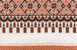 Oekraïense texturen Royalty-vrije Stock Fotografie