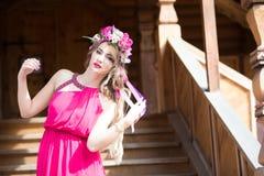 Oekraïense vrouw royalty-vrije stock foto's