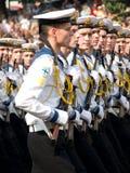 Oekraïense Zeelieden Royalty-vrije Stock Foto