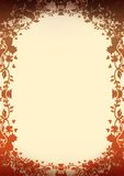 Oenamental floral background. Valentine's background floral ornaments Stock Photography