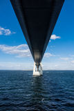Oeresund bridge Stock Photography