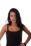 Oerfaren flicka Fotografering för Bildbyråer