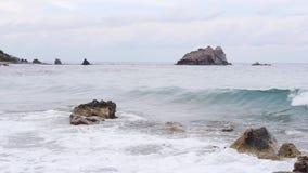 Oerhörd havsvåg arkivfilmer