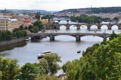 Oerhörd stad Prague Fotografering för Bildbyråer