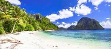 Oerhörda öar av Filippinerna Arkivbild