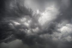 Oerhörda avskyvärda moln Fotografering för Bildbyråer