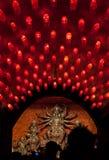 Oerhörda Indien-gudinna Durga berömmar Arkivfoton