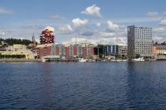 Oernskoldsvik Швеция Стоковые Изображения