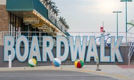 Oerwoud, New Jersey, de V.S. - 26 Mei, 2016: Mening bij de promenade, Stock Afbeeldingen