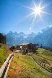 Oeschinen, Kandersteg,Switzerland - Cable Car Stock Images