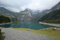 Oeschinensee Stockfoto