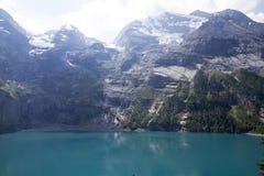 Oeschinensee Alpes suisses, Kandersteg, Bernese Oberland, l'Europe Carpathien, Ukraine, l'Europe photos libres de droits