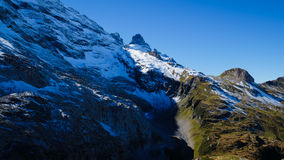 Oeschinensee - Berg-Oeschinen See Stockfoto