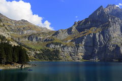 Oeschinensee Royalty Free Stock Photos