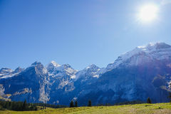 Oeschinensee Oeschinen lake Royalty Free Stock Photography