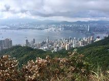 Oeste alto da montagem em Hong Kong Fotos de Stock