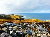 A oeste da linha da costa da Irlanda Fotografia de Stock