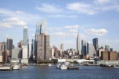 Oeste del Midtown de Manhattan fotografía de archivo