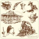 Oeste salvaje Imagen de archivo libre de regalías