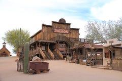 Oeste velho: Bar Fotografia de Stock