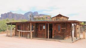 Oeste velho: Wells Fargo Station foto de stock royalty free