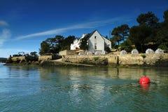 Oester-bewerkt van Bretagne. Stock Foto