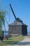 Oestrich-Winkel, Ruedesheim, Rijn-Rivier, Duitsland Stock Foto's