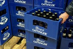 Oettinger啤酒 库存照片