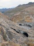 Oetztal : 冰川的其余 免版税库存照片