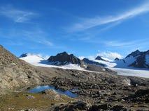 Oetztal : Gurgler冰川 免版税图库摄影