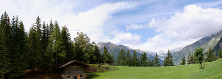 The Oetztal Alps in South Tyrol, Italy Royalty Free Stock Images