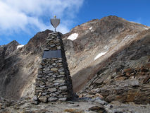 Oetztal: Monument Stock Image