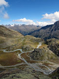 Oetztal: Mountain river Stock Image
