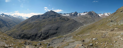 Oetztal: Panorama view Royalty Free Stock Photos
