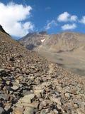 Oetztal: Percorso della montagna Immagini Stock