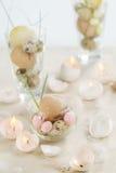 Oeuf-bougies de Pâques Images stock