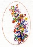 Oeuf décoratif Photos libres de droits