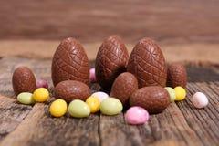 Oeuf de chocolat Images libres de droits