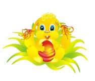 Oeuf de lapin et de pâques, illustration de vecteur Photos stock