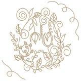 Oeuf de pâques décoratif illustration libre de droits