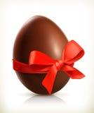 Oeuf de pâques de chocolat Photographie stock