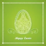 Oeuf de pâques heureux Image libre de droits