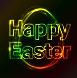 Oeuf heureux de plasma de Pâques photo libre de droits