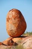 Oeuf, le marbre du diable, australie Photo libre de droits