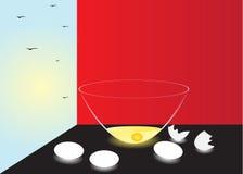 Oeufs. illustration stock