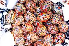 Oeufs décorés Image stock
