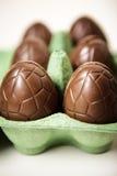 Oeufs de chocolat Image libre de droits