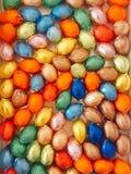 Oeufs de chocolat Photos libres de droits