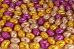 Oeufs de Chocolat pâques Images stock