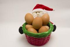 Oeufs de Noël Photo libre de droits
